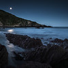 """Blue Moon"" - This was taken on the night of a blue moon in Talland Bay, Cornwall."