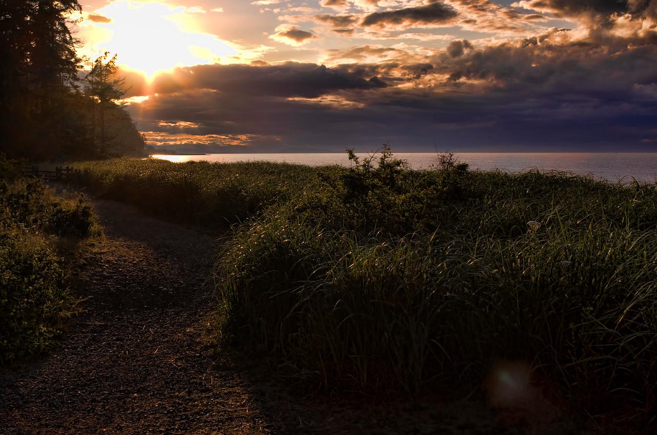 Summer Storms - Rathtrevor Beach, Parksville, British Columbia<br /> Camera: Pentax K5 / Lens: K28/2.0