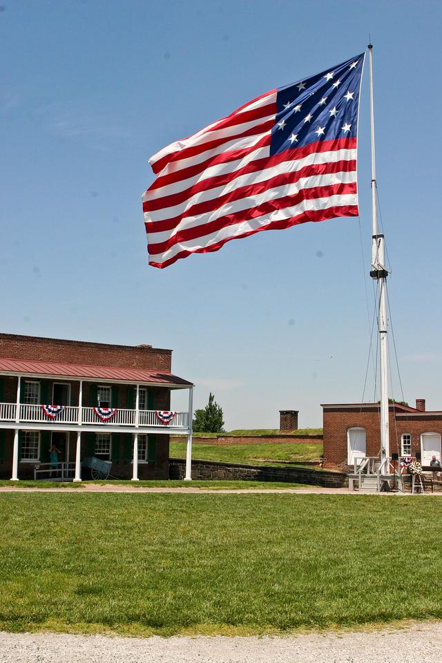 Fort McHenry, Inner Harbor, Baltimore, Maryland