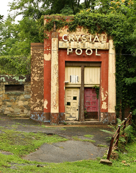 Crystal Pool, Glen Echo Park located in the suburban community of Glen Echo just outside of Washington, DC. 