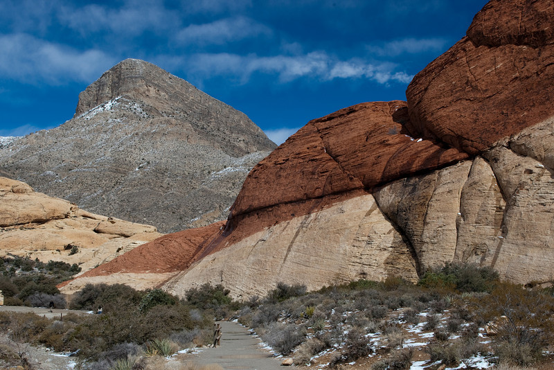 Calico Hills & Sand Stone Quarry, Red Rock Canyon National Conservation Area, Las Vegas, Nevada