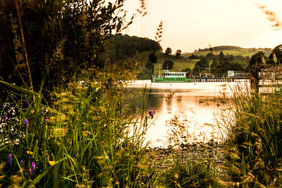 Ullswater Steamer, near Pooley Bridge in the Lake District.