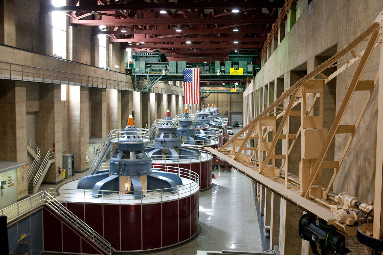 Electrical Turbines, Hoover Dam, Nevada
