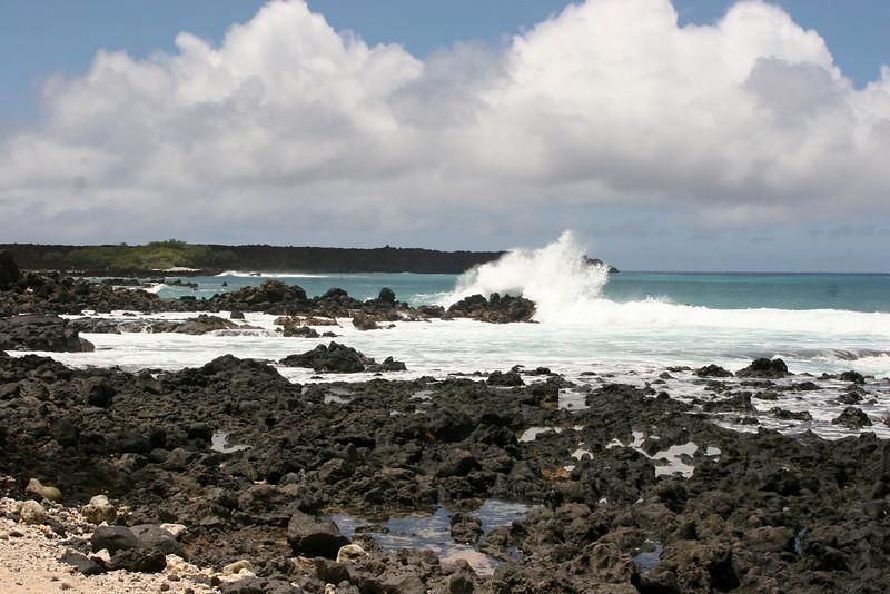 Beach located on the Ahihi-Kinau Natural Area Reserve, Maui, Hawaii