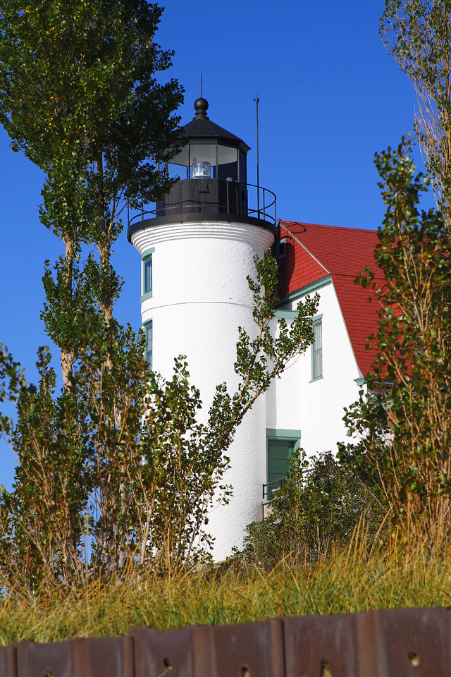 Point Betsie, Michigan in the Fall.