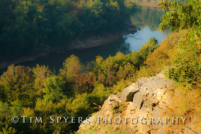 A morning at Castlewood State Park in Missouri.