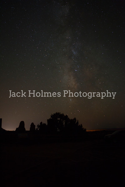 Milky Way - behind Turret Arch.