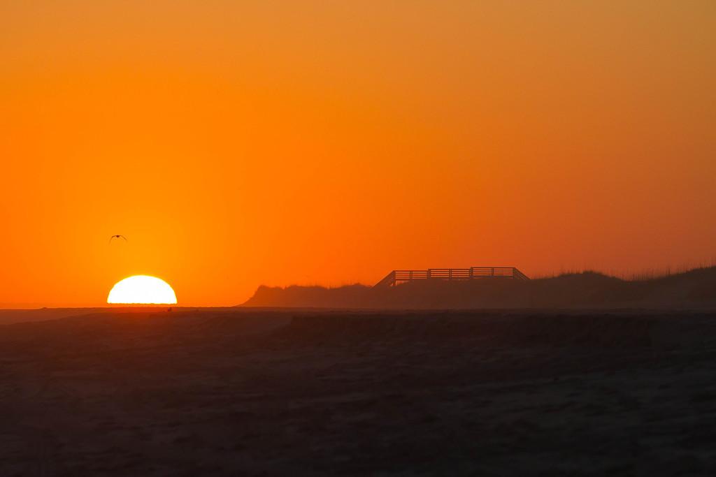 Sundown at Emerald Isle
