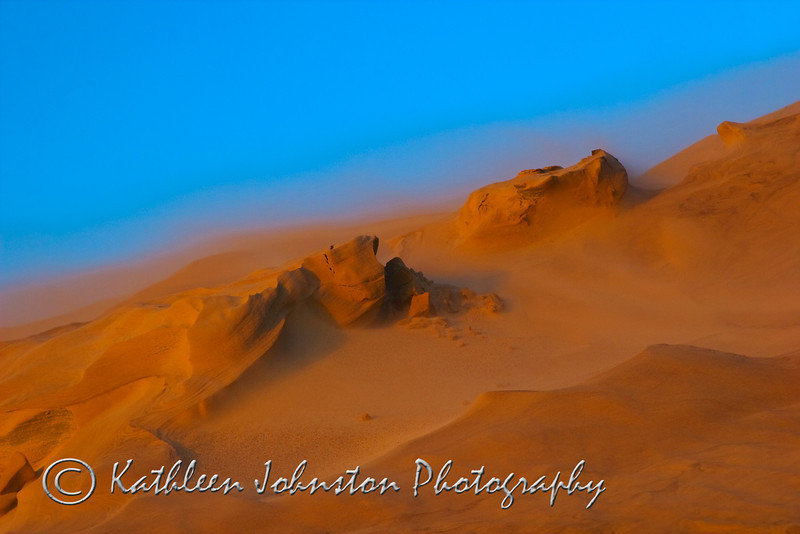 Sandstorm at Jockey Ridge<br /> Winner of Excellence in Photography Award from the Arts Council of Carteret County