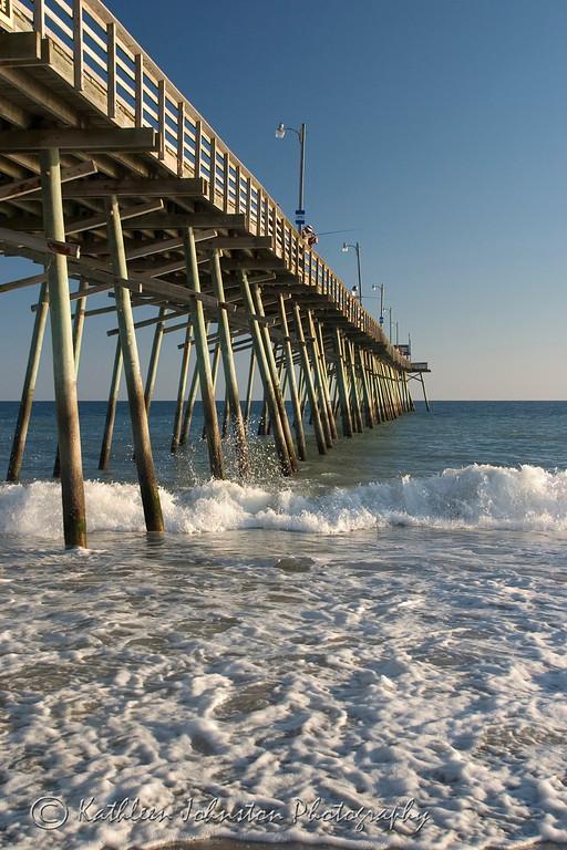 Fishermen, Bogue Inlet Pier, Emerald Isle, North Carolina