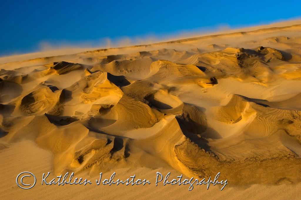 Craters - the dunes at Jockey Ridge State Park, NC
