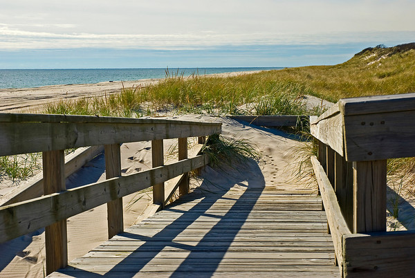 The ramp at Talisman, Fire Island