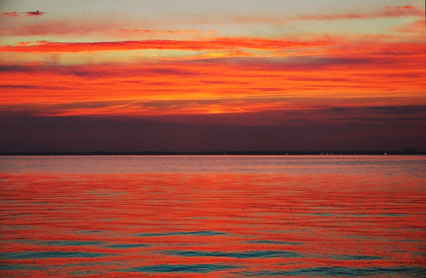 Great South Bay at sunset