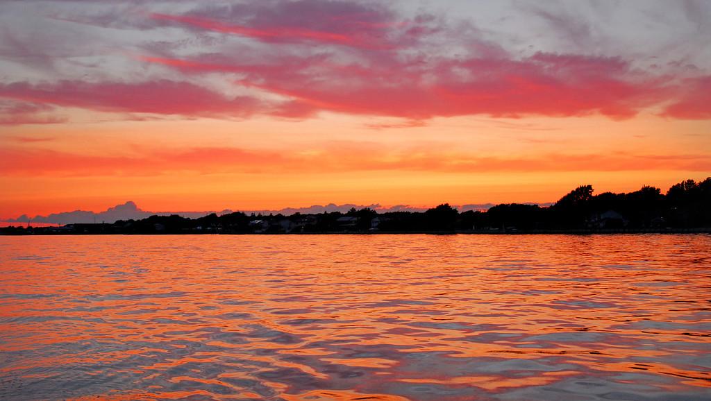 Sunset in Sayville