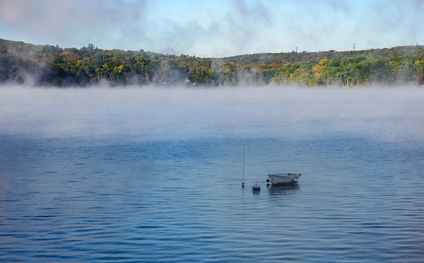 Misty Lake Morning