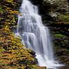 Just one of many falls at Ricketts Glenn, Pennsylvania