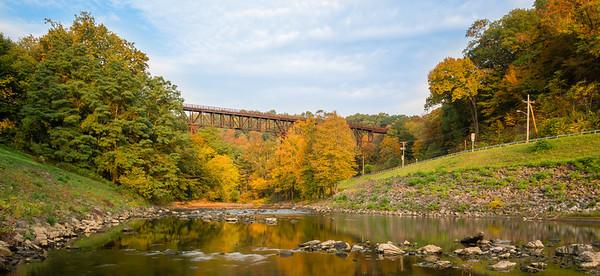 The Rosendale Railroad Trestle