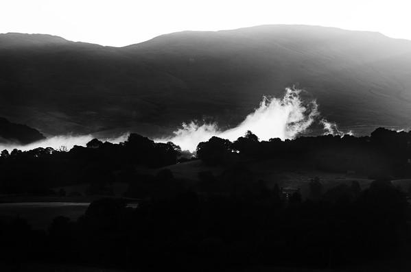 Kendal at Dawn, Cumbria, UK