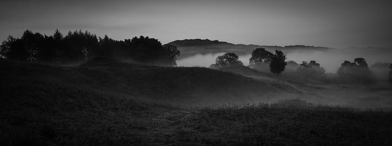Misty Morning around Elterwater