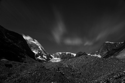 Zmutt Glacier, Beneath The Matterhorn, Nr. Zermatt, Switzerland