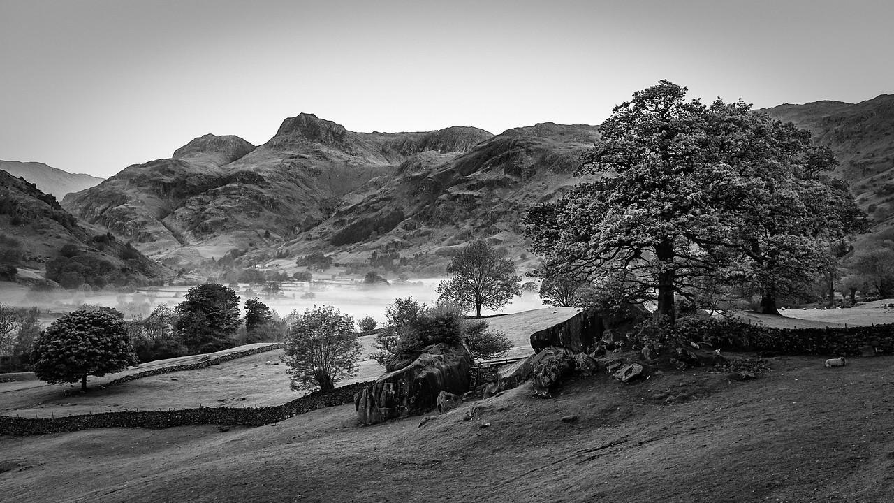 Great Langdale Valley, Cumbria, UK