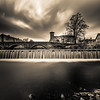 Stramongate Bridge and Weir, Kendal, Cumbria