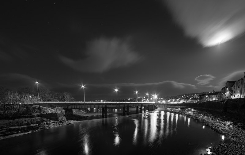 Greyhound Bridge over the River Lune, Lancaster, Lancashire, UK