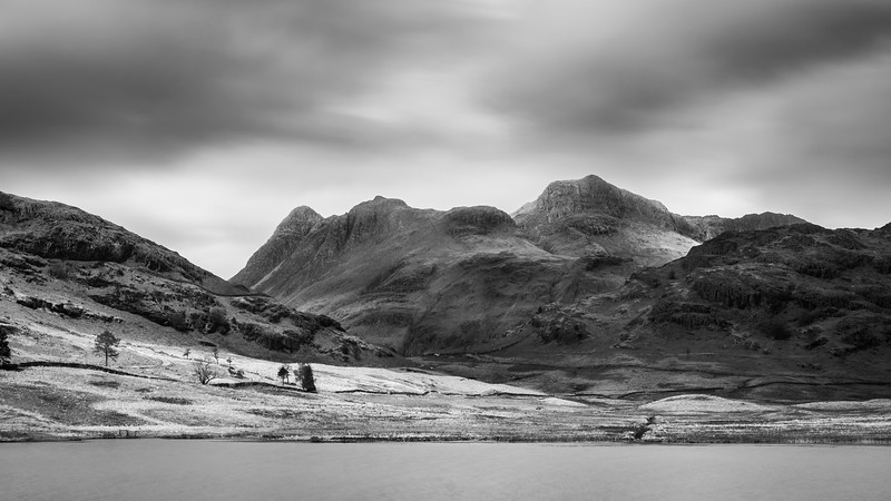 The Langdale Pikes, Cumbria, UK