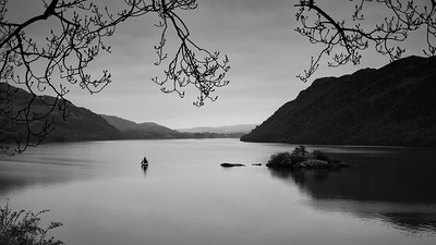 """Sailboat"", Ullswater, Cumbria, UK"