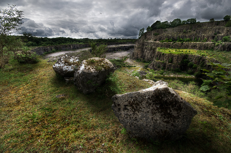 Quarry, Kendal, Cumbria, UK