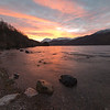 Sunrise over Ennerdale, Cumbria, UK