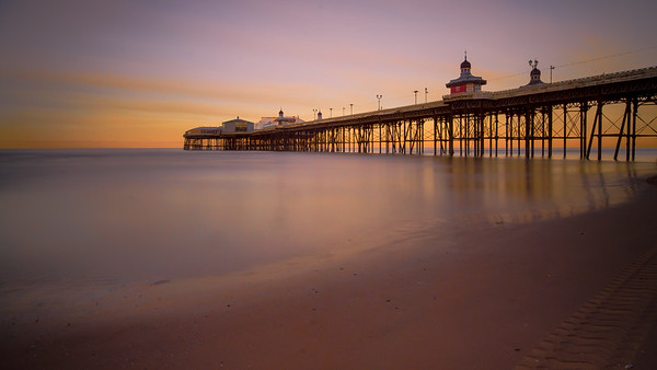 The most perfect morning in Blackpool - Nov '12
