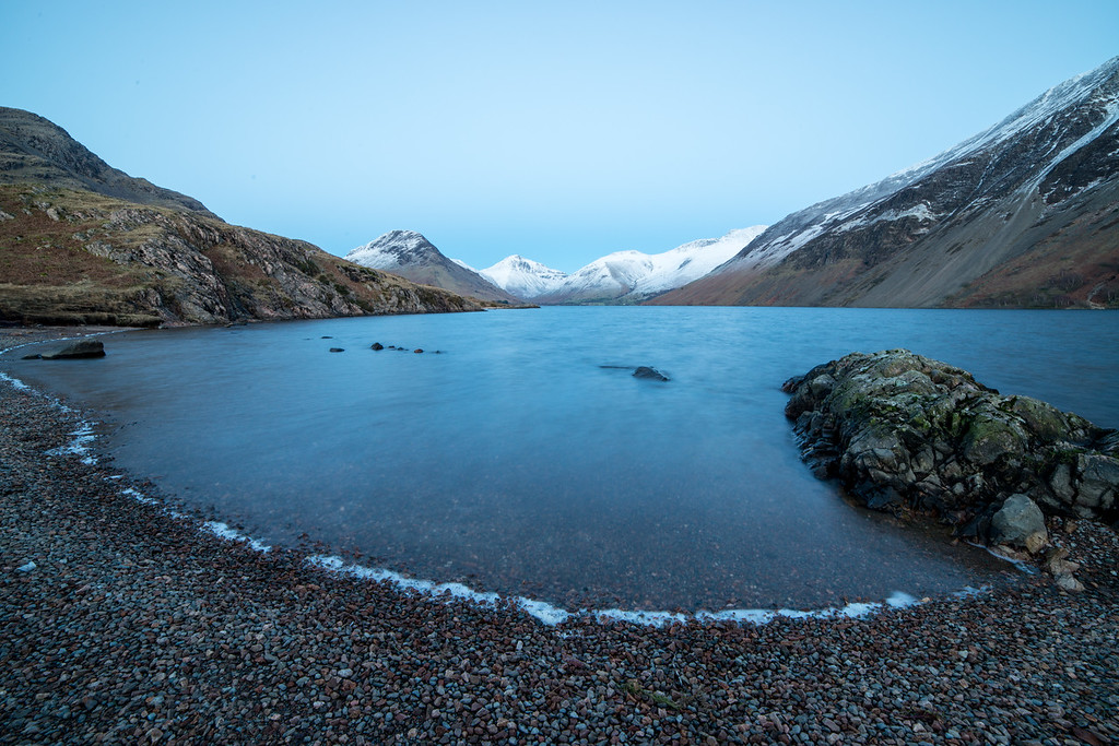 Wast Water at Dusk, Cumbria, UK