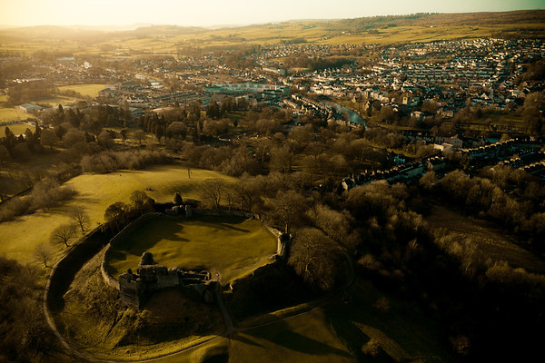 Kendal Castle and Town