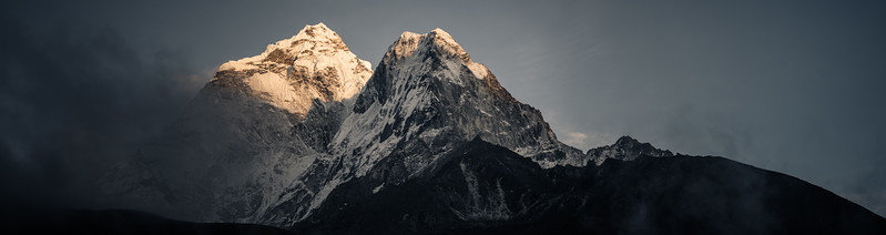 Ama Dablam from Dingboche