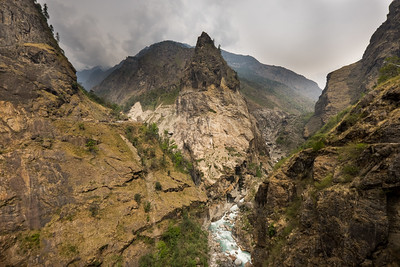 Such an epic view on the Annapurna Circuit, Nepal!