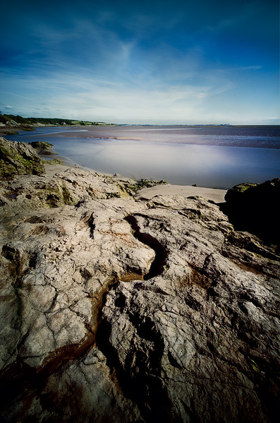Low Tide on Silverdale Shore, Lancashire, UK