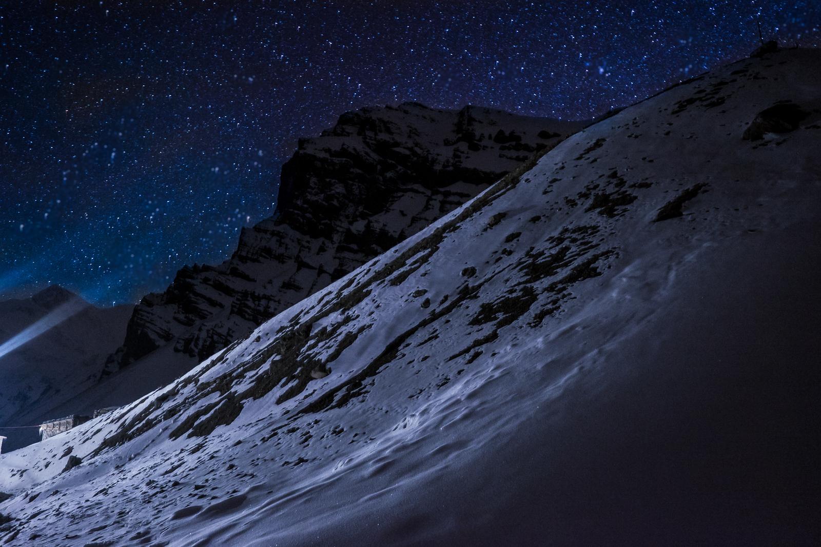 High Camp, 4800m, Annapurna Circuit, Nepal