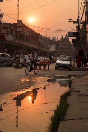 Kathmandu Sunset, Nepal