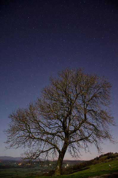 Lythe Valley at night, Kendal, Cumbria, UK