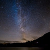 The Milky Way over Loughrigg Tarn, Cumbria, UK