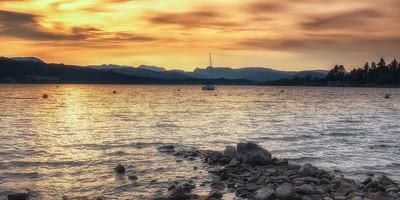 Lake Windermere and Langdales