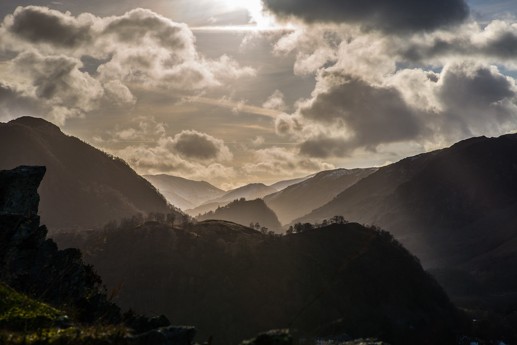 The Jaws of Borrowdale, Borrowdale, Cumbria, UK