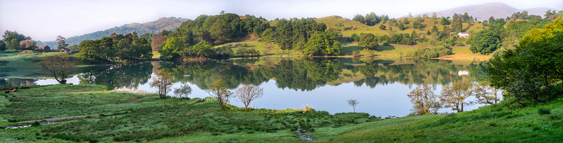 Loughrigg Tarn, Cumbria, UK