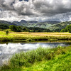 The Langdales (Panoramic View), Cumbria, UK