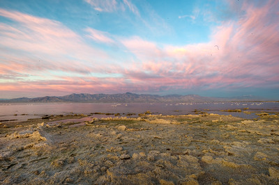Here comes the sun. See the panos for the full effect.