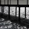 Pier silhouette