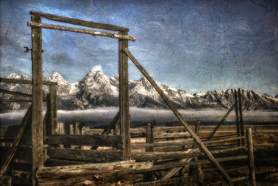 Old Corrals, Mormon Row, Grand Teton National Park