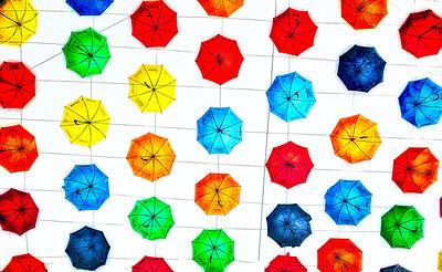 Floating Umbrellas, London Heathrow International Airport