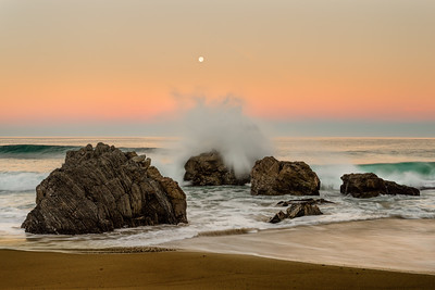 Garapatta Moonset